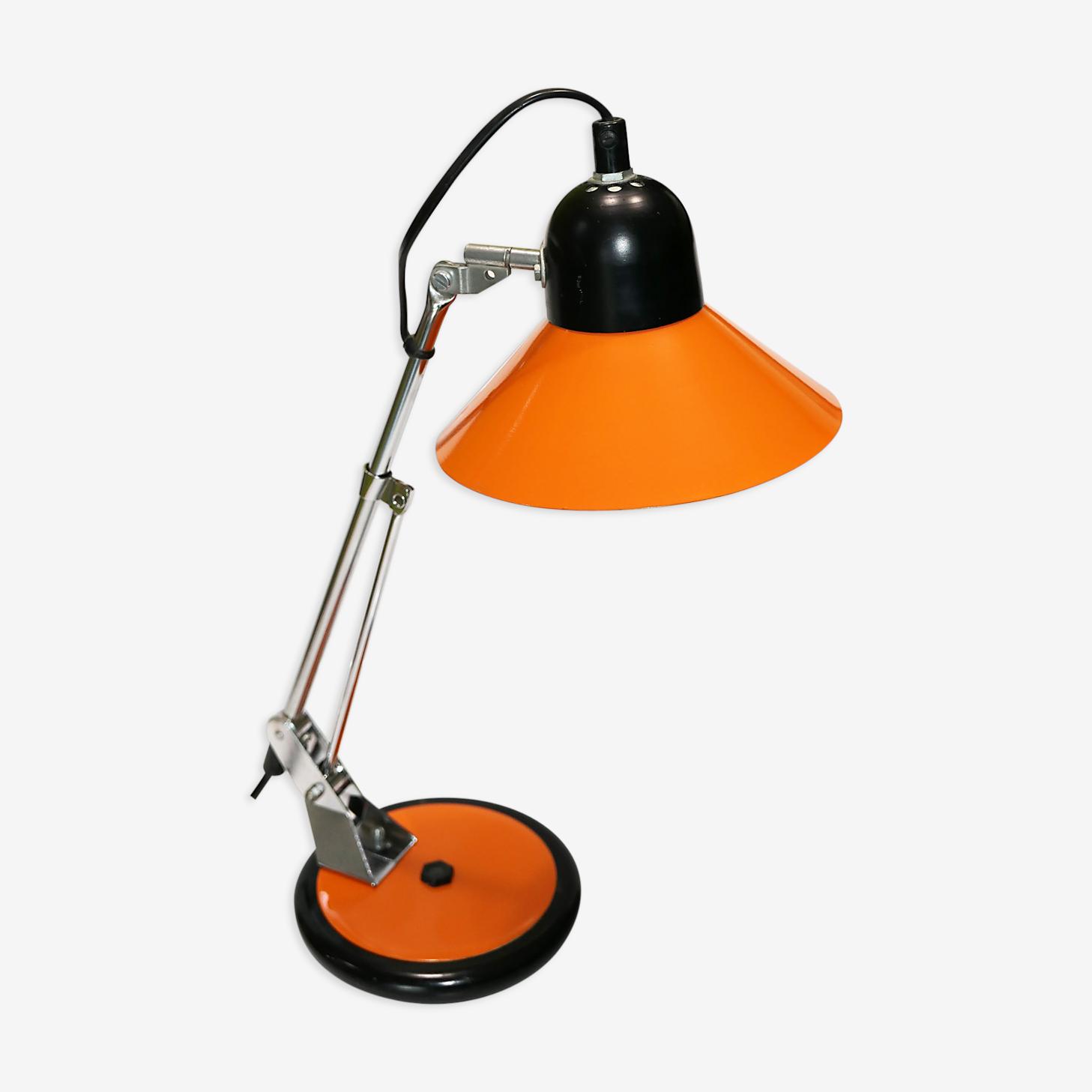 Lampe de bureau Aluminor orange