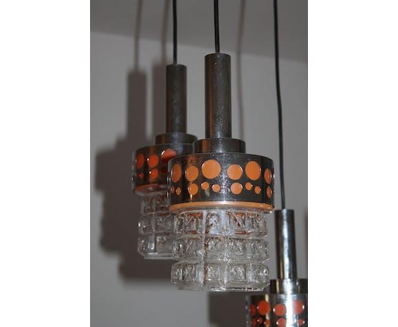 Lstre Raak suspension en cascade vintage 70's