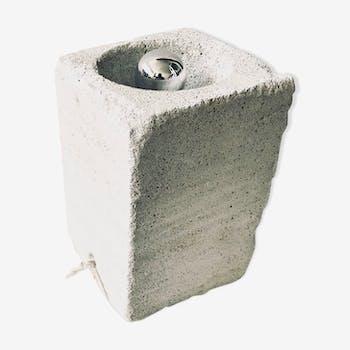 Lampe beton cellulaire