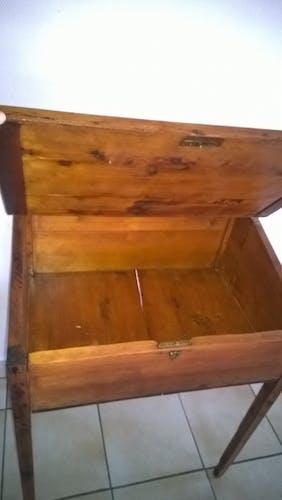 Bureau écolier, en bois
