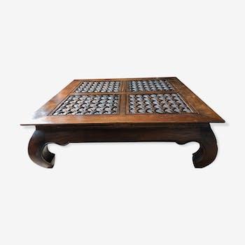 Table basse balinaise