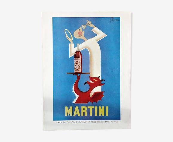 Advertising old Martini
