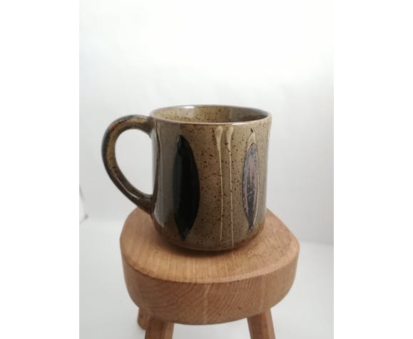 Lot de 4 mugs vintage