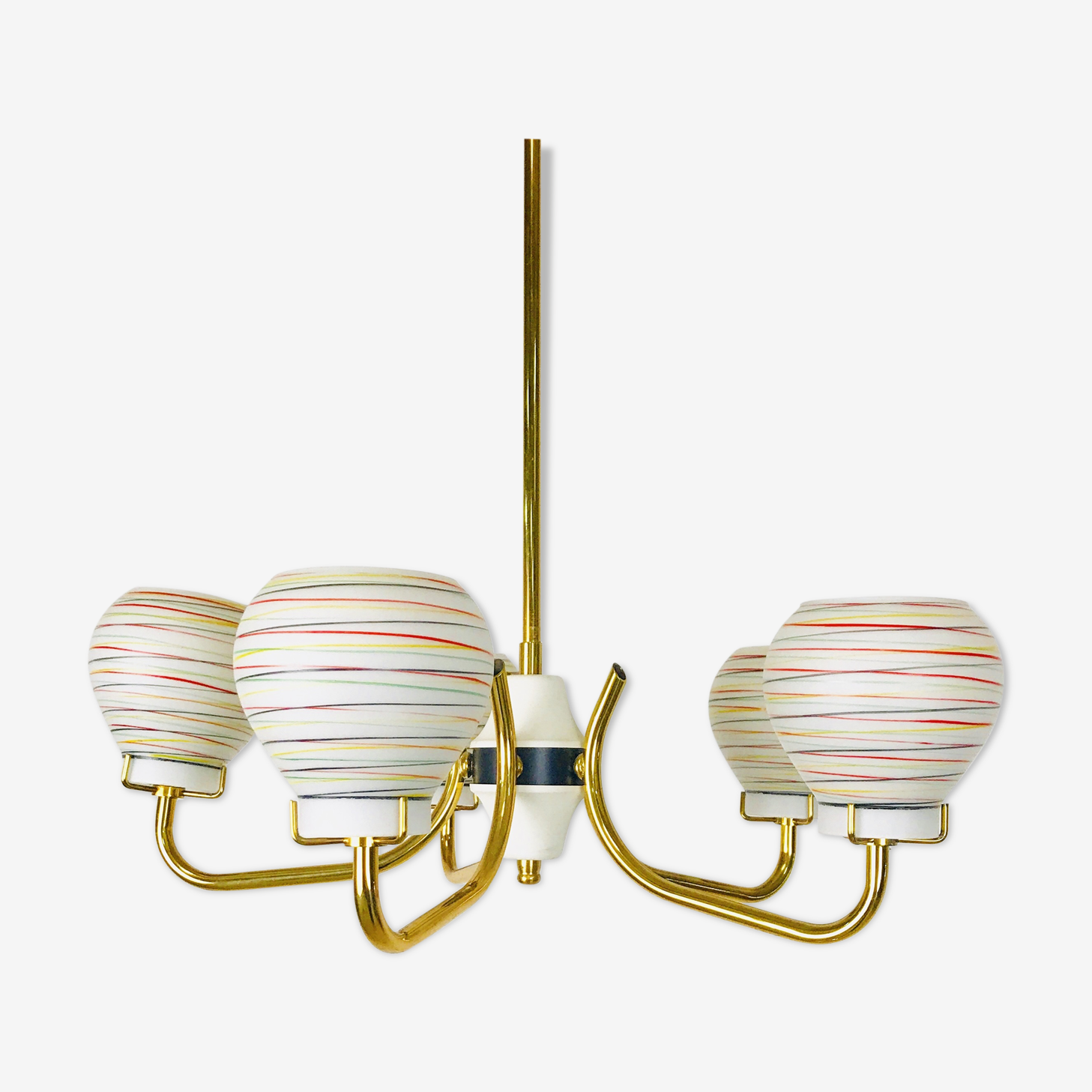 Swedish chandelier from the 1960, Rockabilly Style