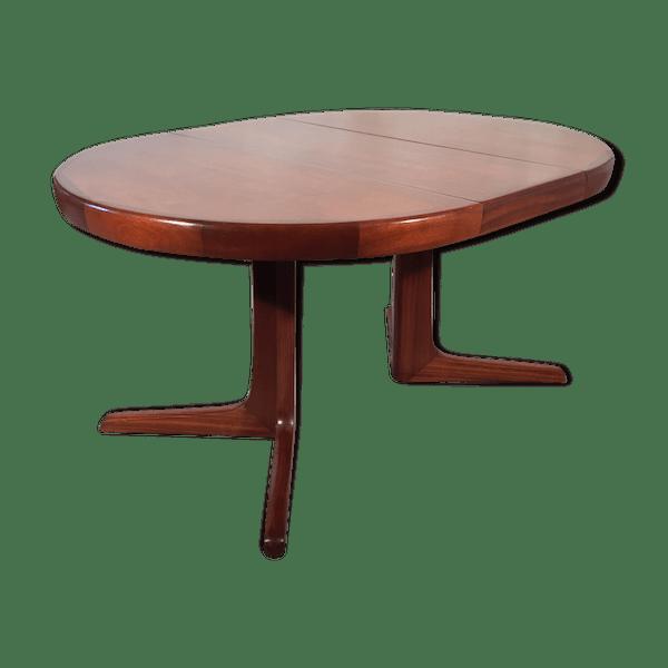 Extensible Bon BoismatériauMarron Scandinave État Xivgbds Table 1960 Ronde 354AqRLj