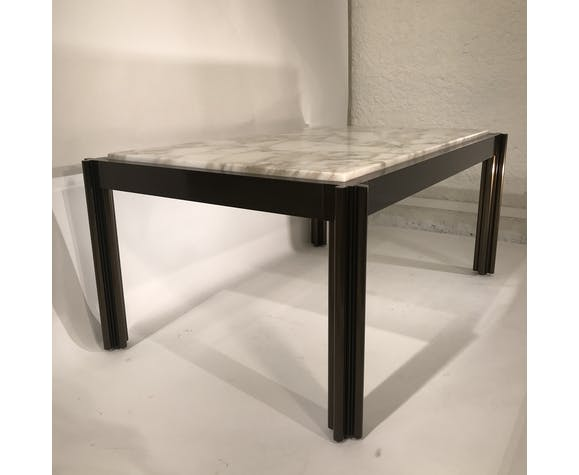 Table basse marbre Georges Ciancimino
