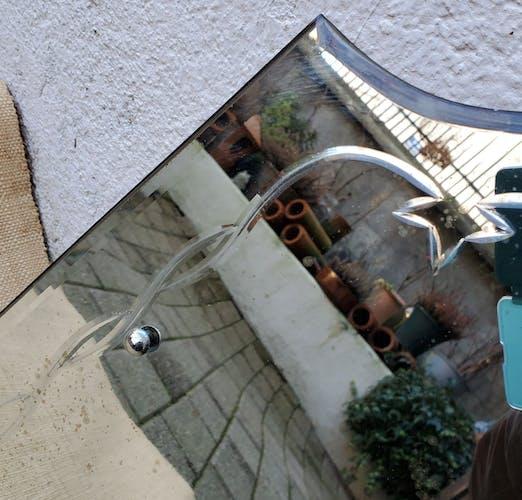 Miroir biseauté et ciselé 56X42