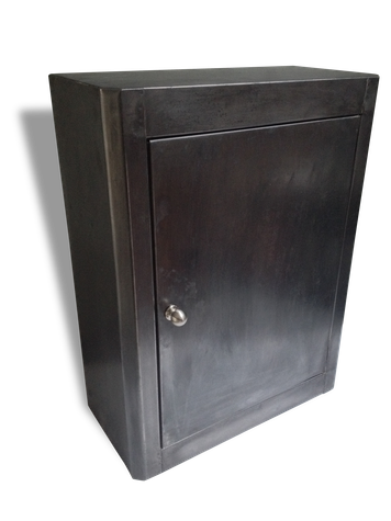 Petite Armoire De Toilette Pharmacie Metallique Metal Grey