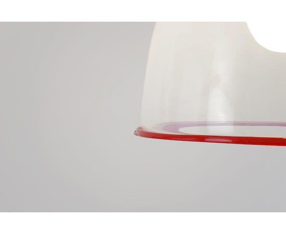 Suspension en verre de Murano de Renato Toso édition Leucos vers 1970