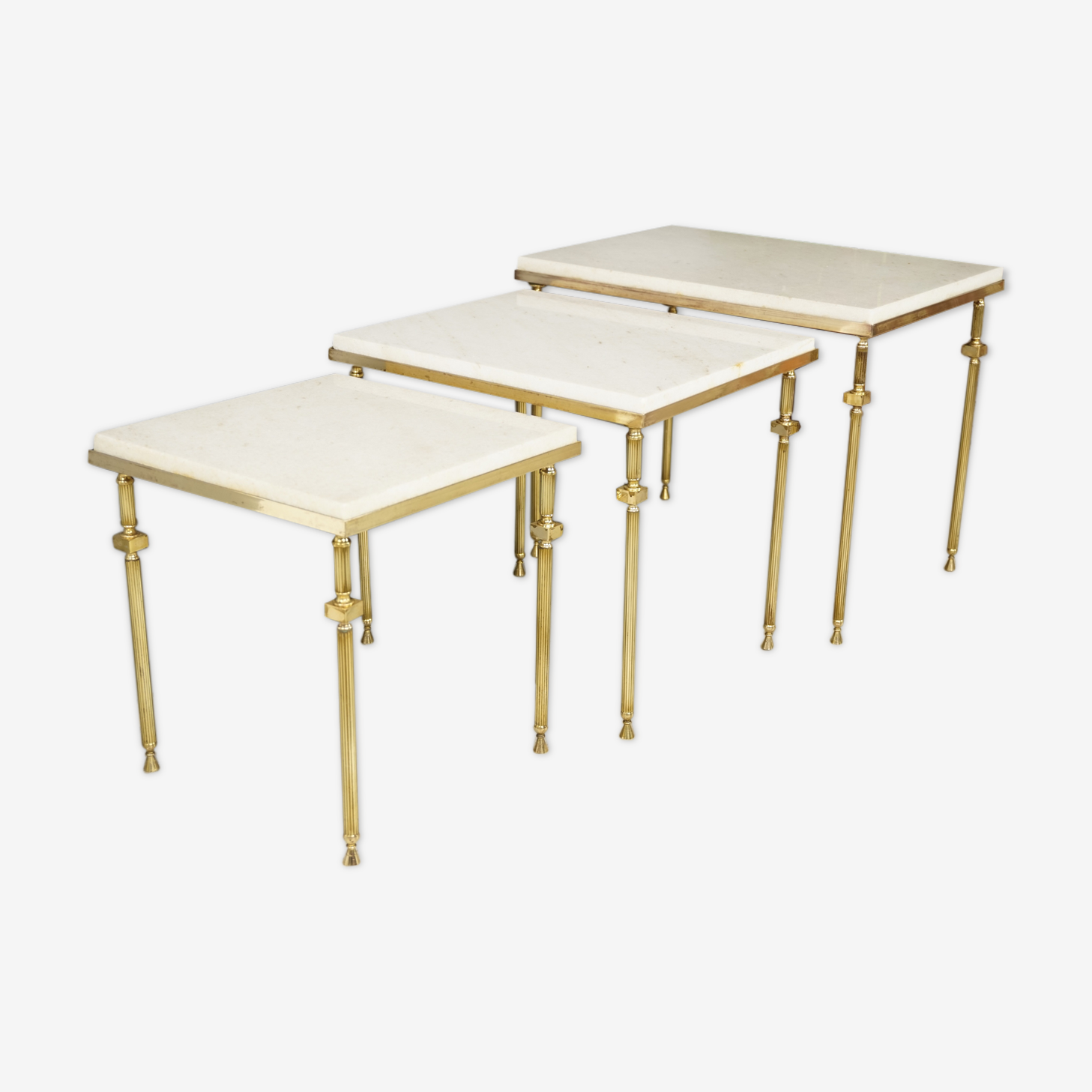 Neo-classical style 70's nesting tables