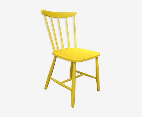 chaise scandinave jaune - Chaise Scandinave Jaune