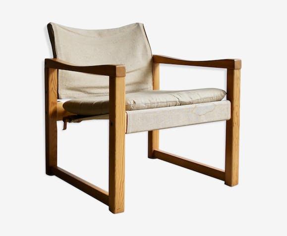 1970 's fauteuil Diana par Karin Mobring