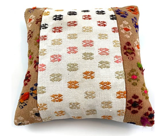 Vintage kilim 40x40cm cushion cover