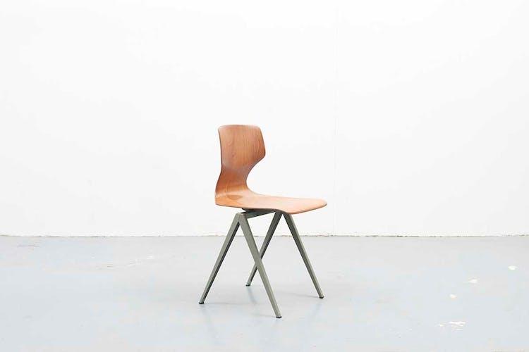 Lot of 6 chairs Galvanitas S19