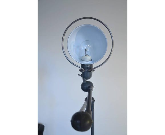 Pair of french Jieldé by Domecq oven floor lamp with four arms around 1950