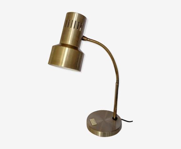 Lampe de bureau flexible en laiton