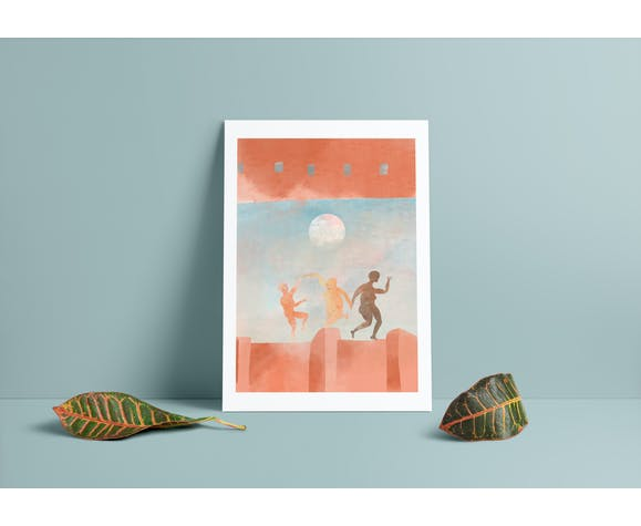 "Illustration ""inside morocco 10é"