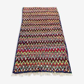 Carpet boucherouite 210 x 110 cm
