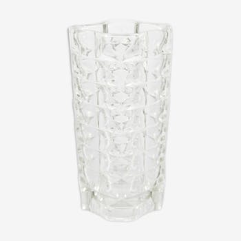 Glass vase Windsor by Luminarc, France 1970
