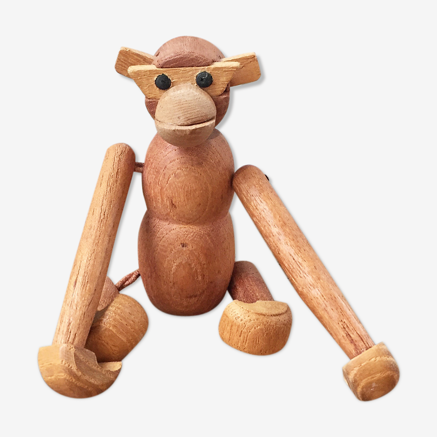 Monkey Zoo Line wood vintage