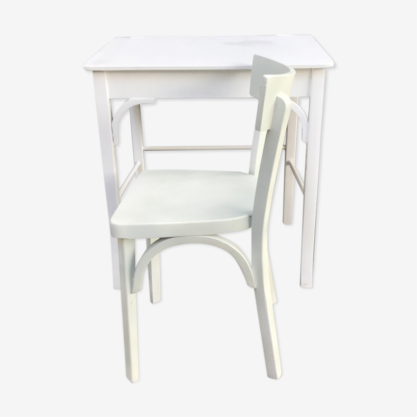 Ensemble chaise et bureau Baumann