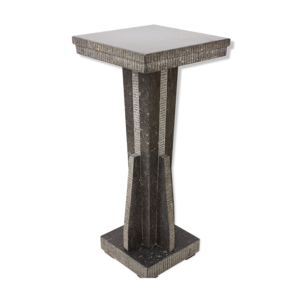Console design en onyx noir