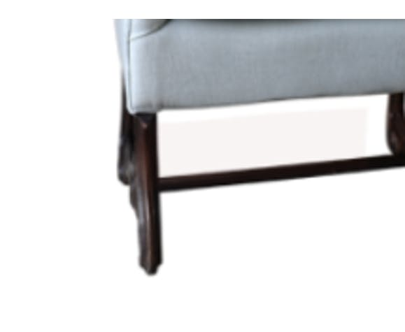 Louis XIV Os de mouton sofa with cushion reupholstered