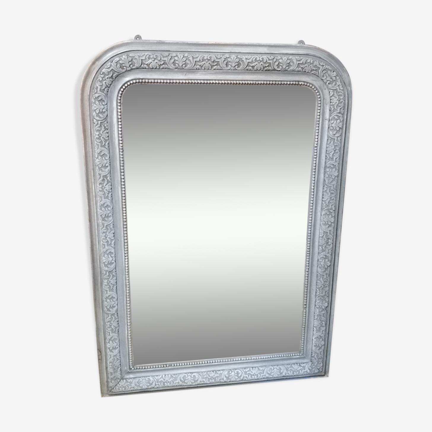 Miroir Louis Philippe patiné 105 x 74cm
