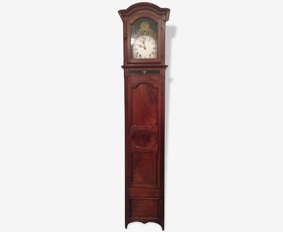 horloge ancienne bois mat riau bois couleur classique 166059. Black Bedroom Furniture Sets. Home Design Ideas
