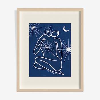 Peinture - étoile