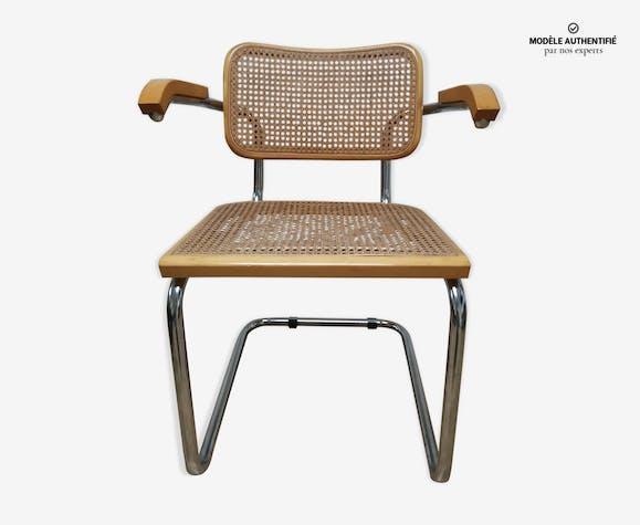 Fauteuil cesca modèle B32 par Marcel Breuer
