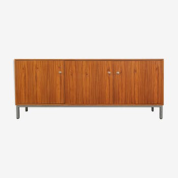 Sideboard rosewood and chrome 1970