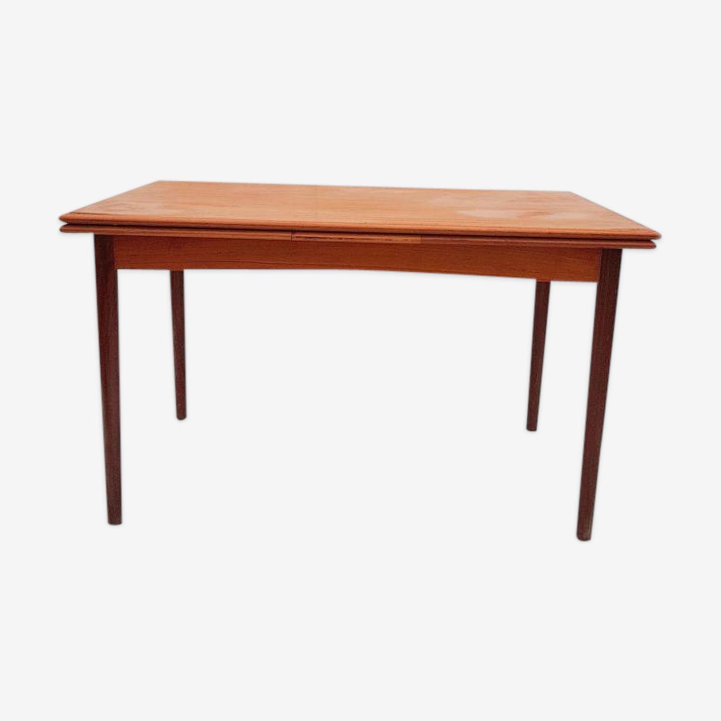 Table extensible Flip-Top par Poul Hundevad pour Dogvad 1960s
