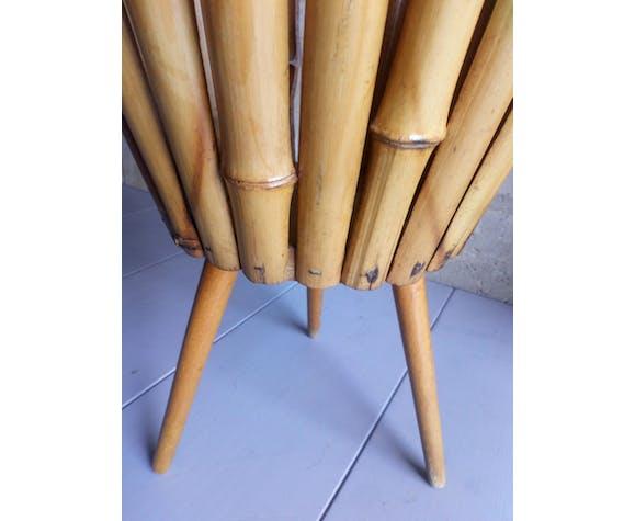 Bamboo tripod plant holder 1950