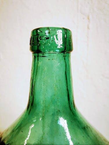 Green demijohn 10 liters