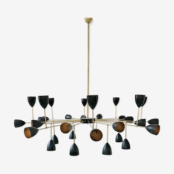 Italian floor lamp in the style of the years 50/60
