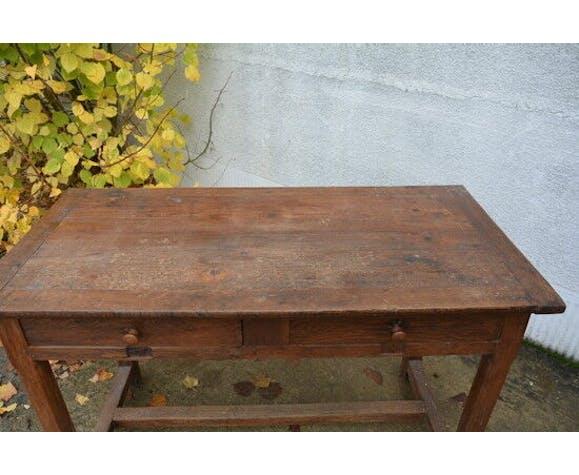 Table bureau en chêne