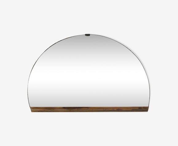 Miroir 1/2 cercle Art Déco, 36x51cm