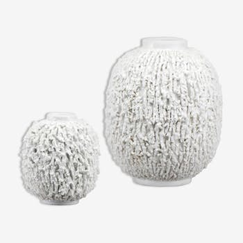 Pair of vases of Gunnar Nylund for RöRstrand, Sweden, 1950s