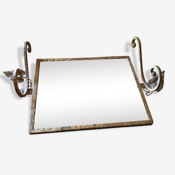 Classique en laiton vintage d 39 occasion for Petit miroir original