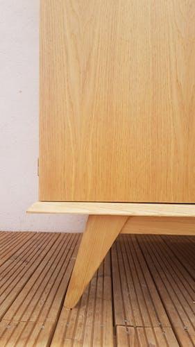 Vintage cupboard compass feet
