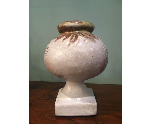Vase en céramique par les frères Cloutier années 60