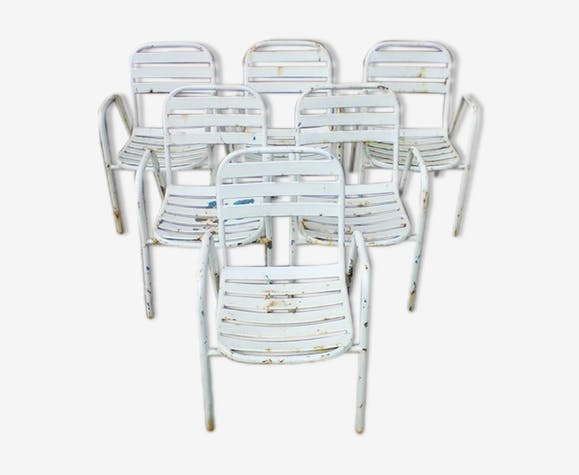 Chaises Jardin Ou Bistrot Annes 50 60