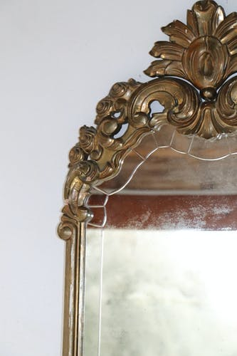 Mirror golden fillet of Versailles - 94x61cm