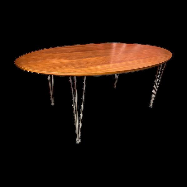 Table ovale vintage