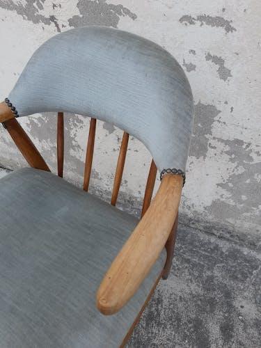 Fauteuil style scandinave années 50