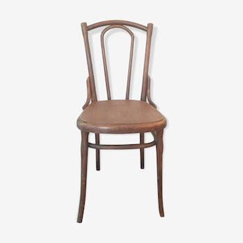 Chair Bistro vintage wood turned