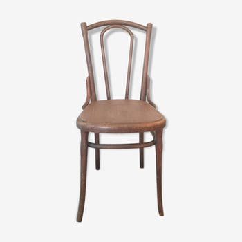 Chaise Bistrot Vintage Bois Tourn