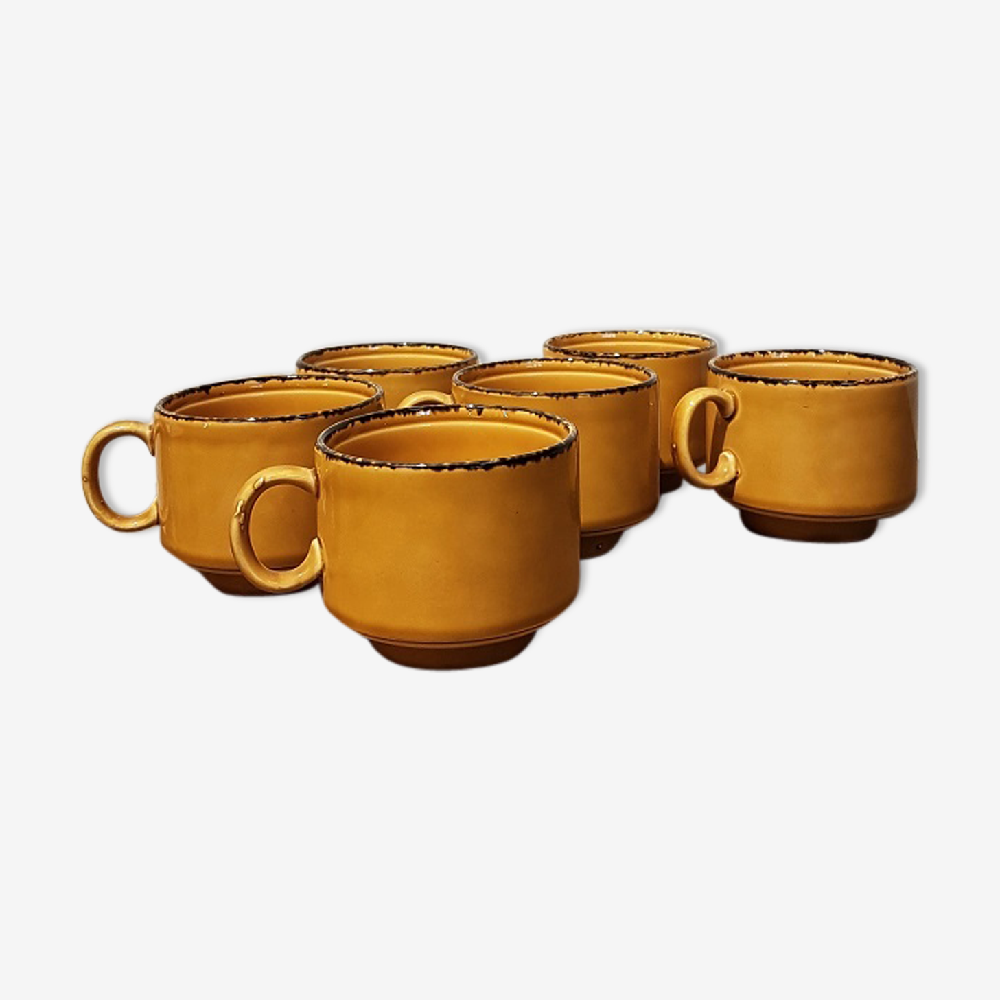 Set of 6 cups Pagnossin Treviso Italy