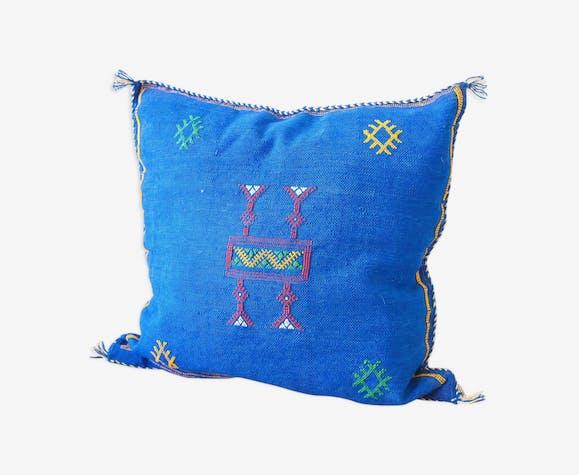 Cactus silk pillow 'sapphire'